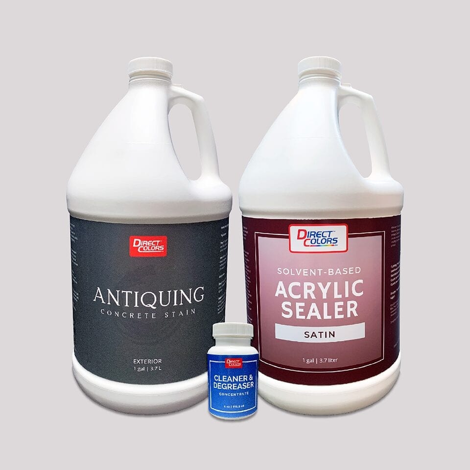 Antiquing Stain and Sealer Kit