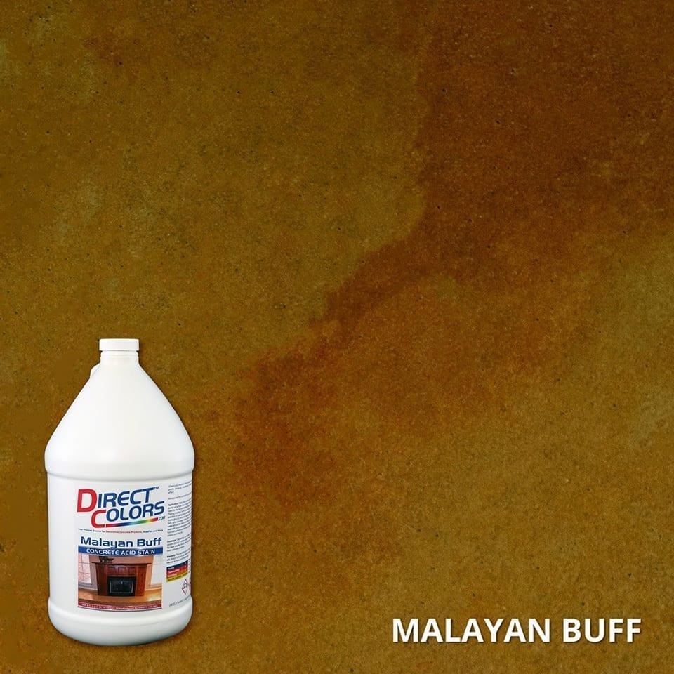 Malayan Buff Acid Stain