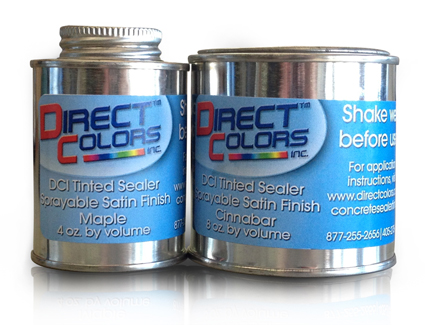 Tinted Concrete Sealers