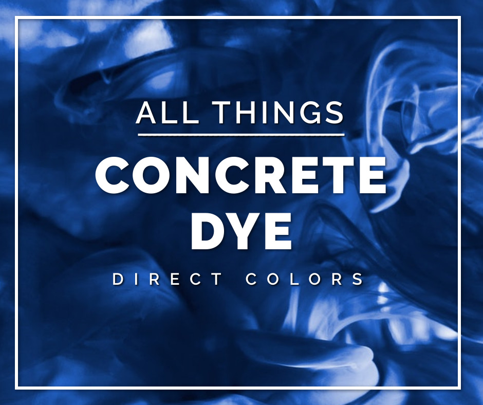 Concrete Dye