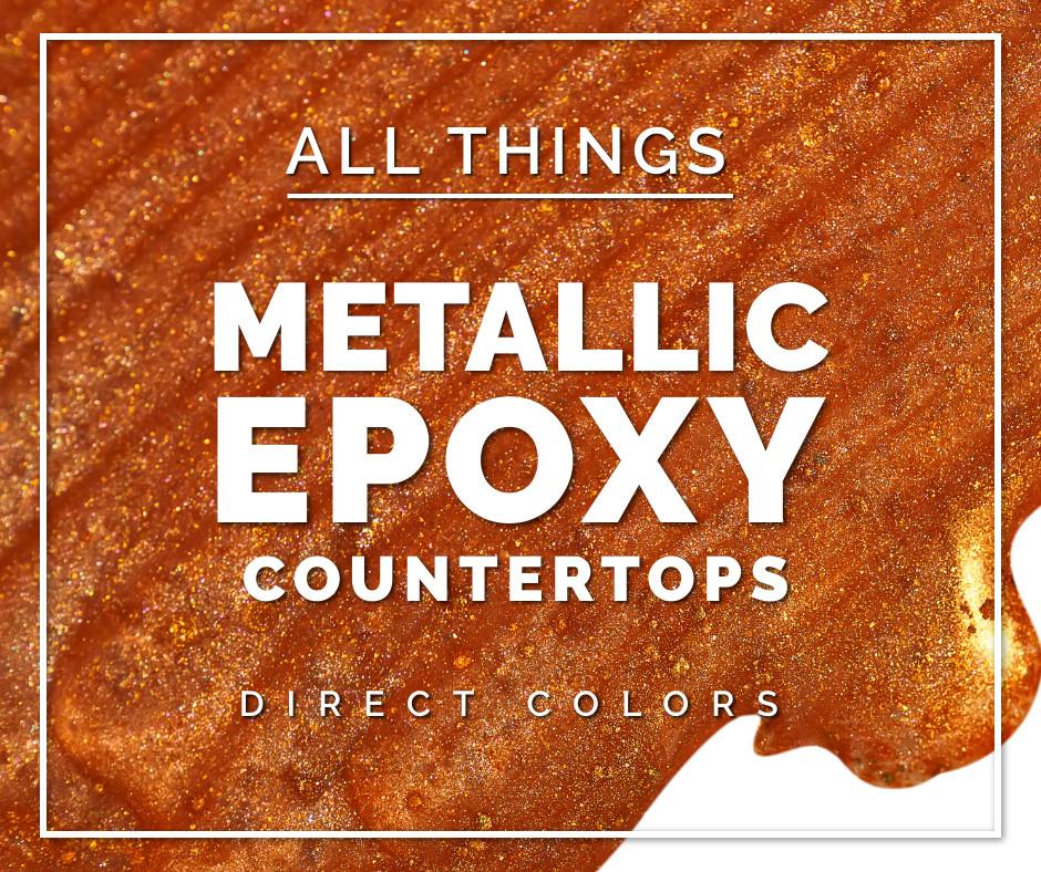 Metallic Epoxy Countertops