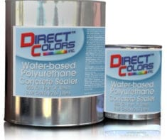 Water-Based, Gloss Polyurethane Concrete Sealer