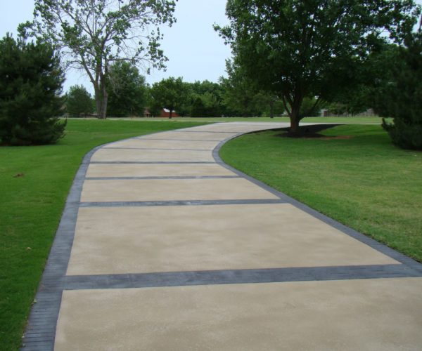 Concrete Overlay Driveway