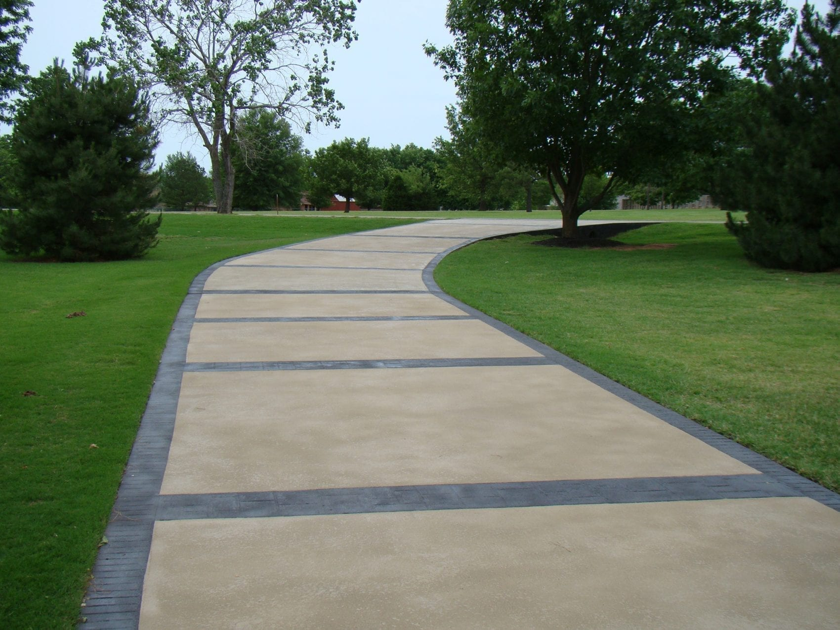 Concrete Overlay Driveway