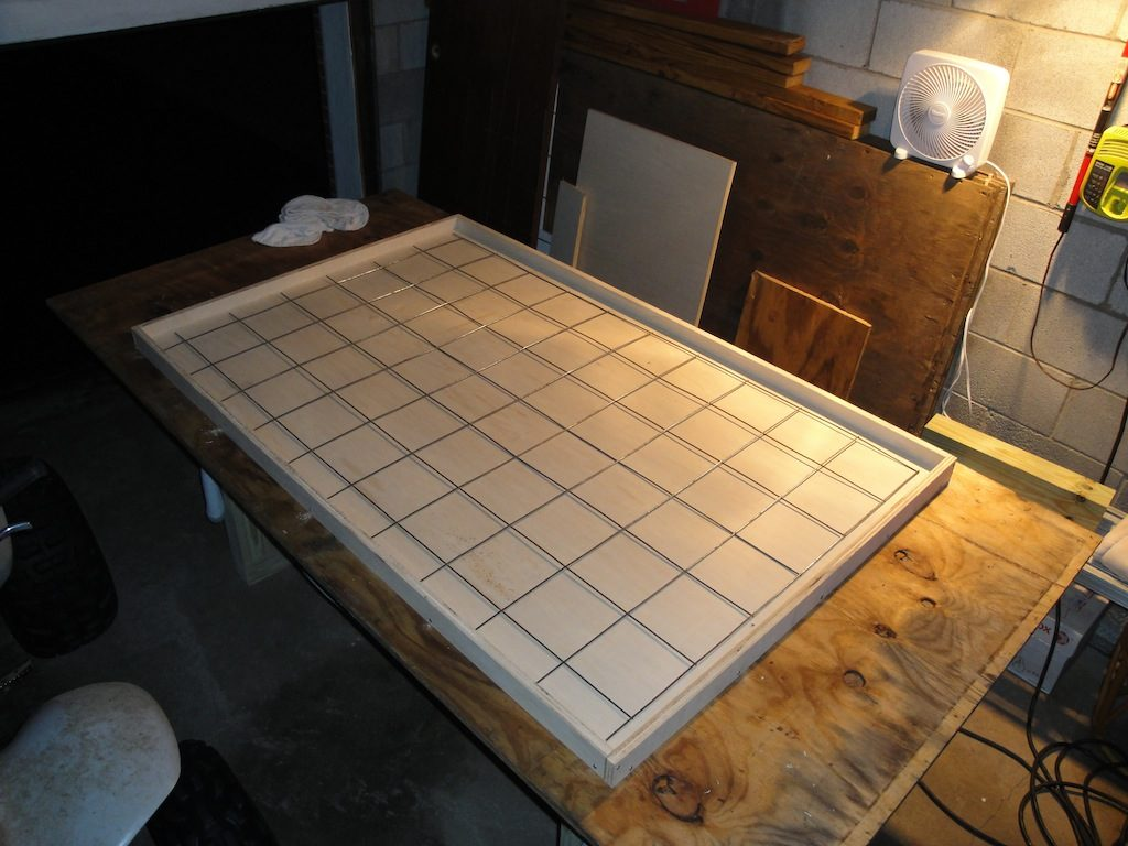 Concrete Table Form with Reinforcement