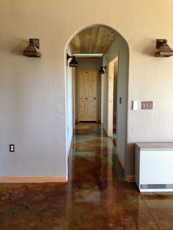 Acid Stained Floor Creative Design Ideas