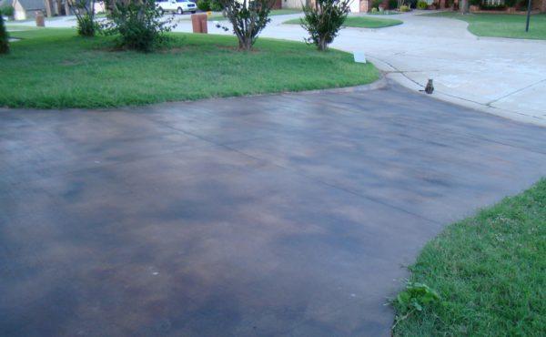 DCI Concrete Dye Driveway