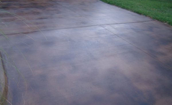 DCI Concrete Dyes Staining Driveways