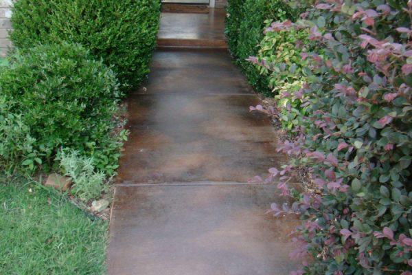 DCI Concrete Dye Walkway