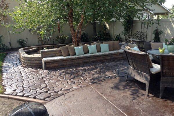 Color Outdoor Concrete Pavers