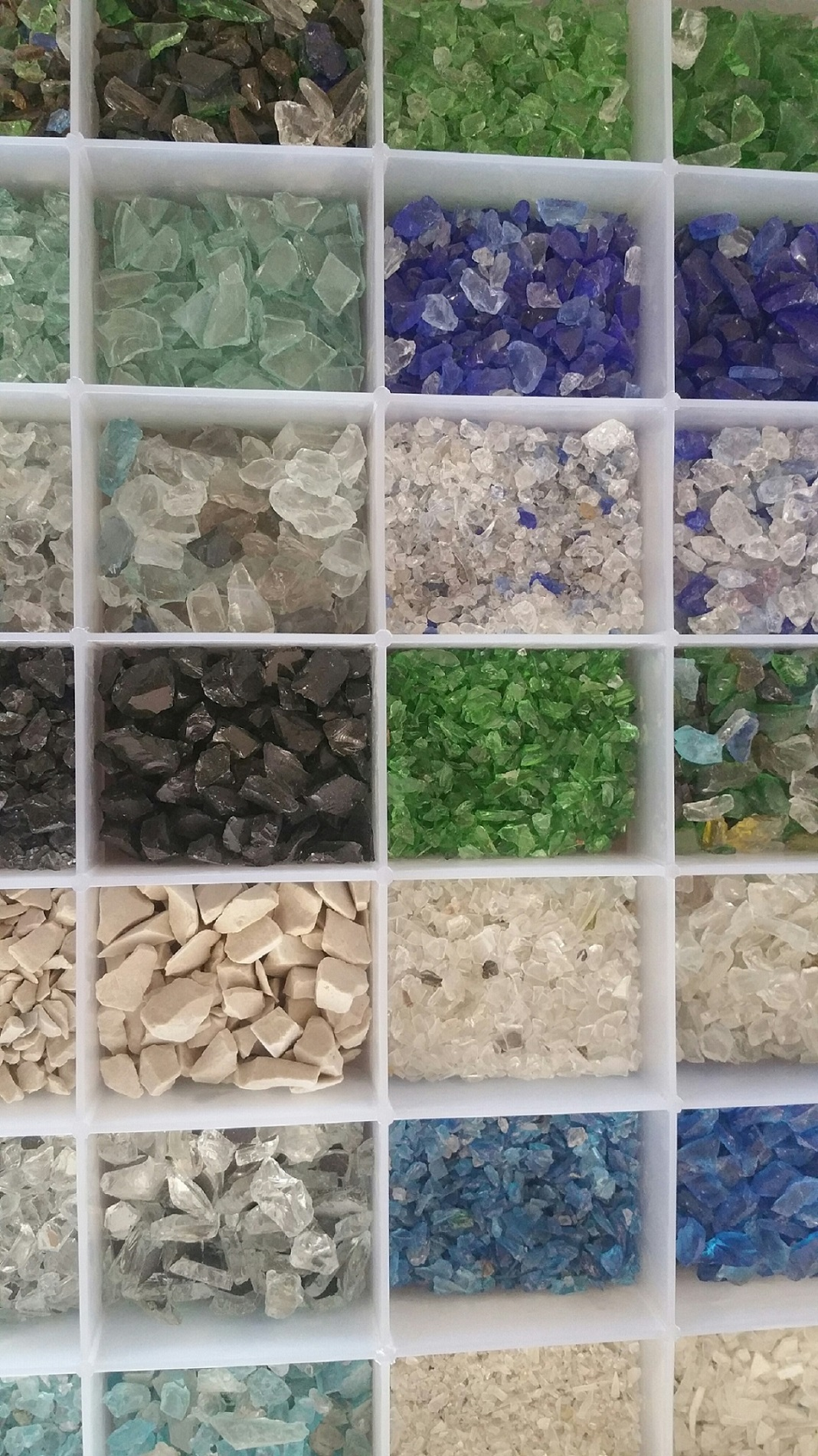 Crushed Glass Color Samples