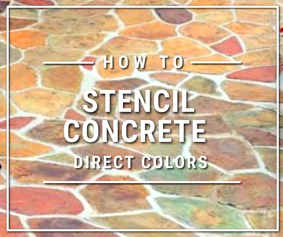 Design by project: Stencil Concrete Design Ideas