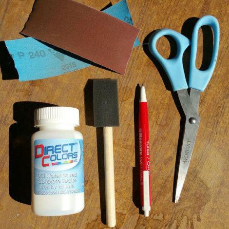 DIY Concrete Coasters Supplies