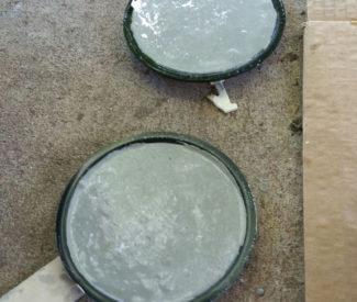 DIY Concrete Coasters -Level Mold