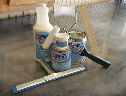 Three-Step Countertop Metallic Epoxy Kit