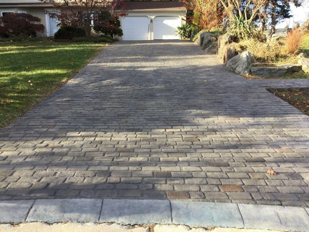 Design by project: Concrete Pavers Driveway Renovation