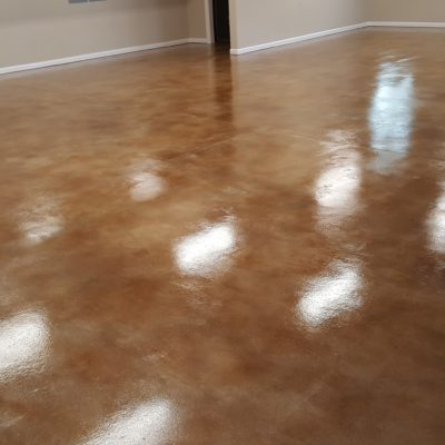 Polyurethane Sealed Garage Floor