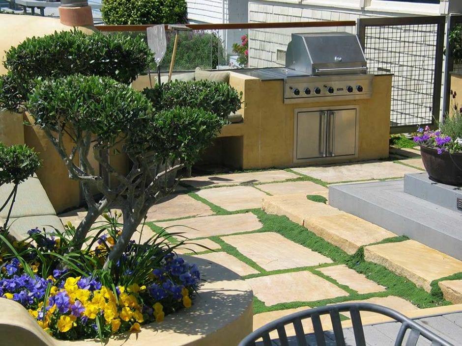 Outdoor Concrete Kitchen