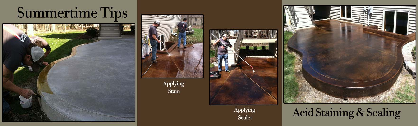 Podcast: Podcast: Tips for Acid Stain and Sealer Coverage on Outdoor Projects