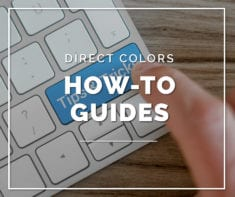 Direct Colors How-To Guides