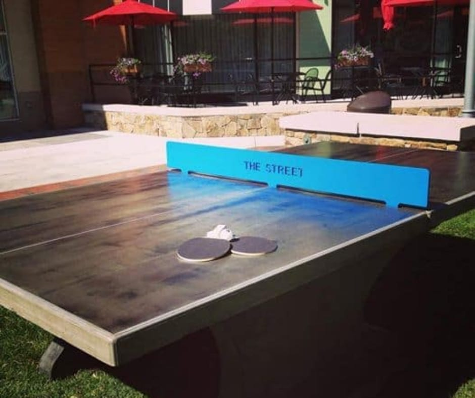 Design by project: Outdoor Concrete Game Table Ideas