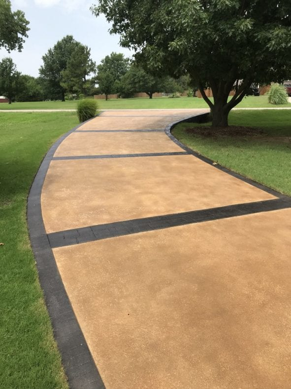 Stained Concrete Driveways Direct Colors