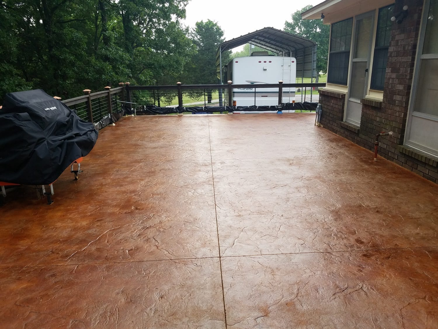 Design by color: Cola Concrete Stain Photo Gallery