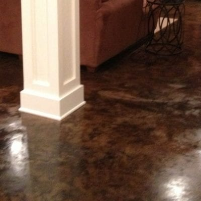 Podcast: Podcast: Acid Staining Basement Floors