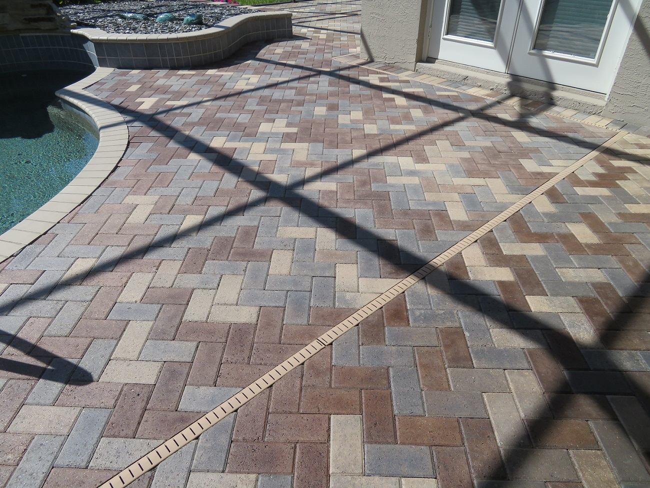 Staining Pavers Different Colors