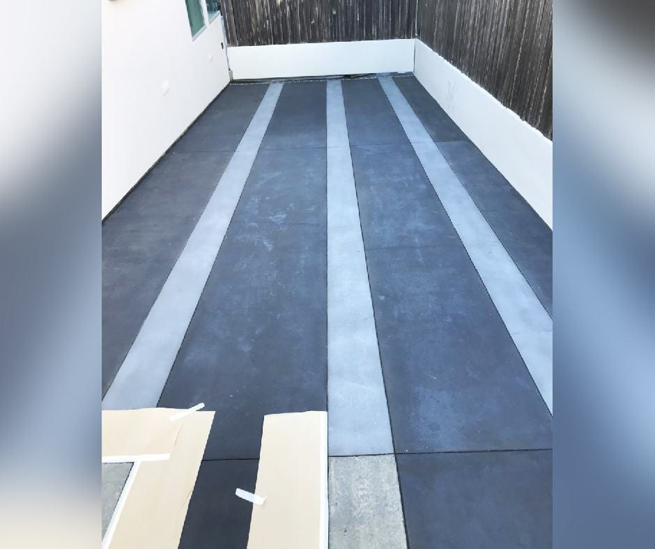 Concrete Dye Patio Design