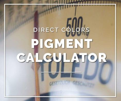 Pigment Calculator