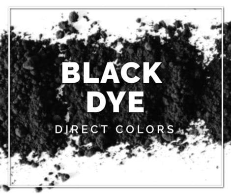 Black Concrete Dye Color