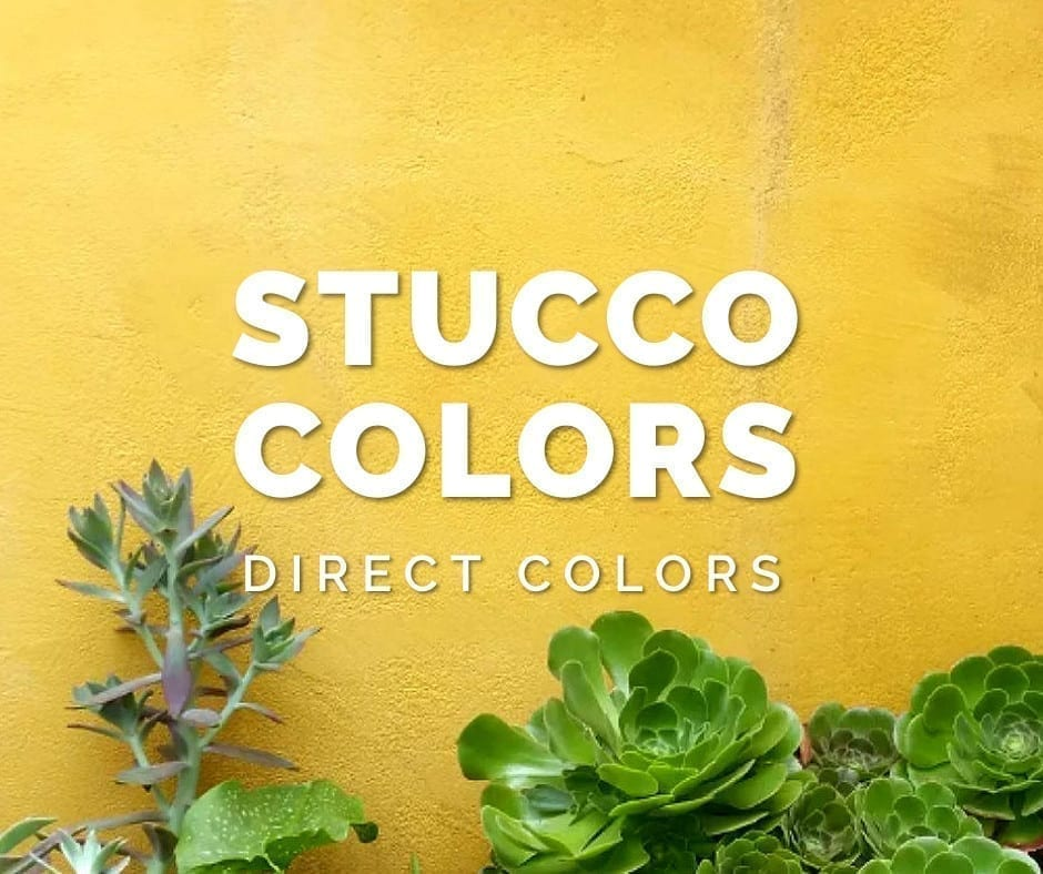 Design by colorant: Stucco Colors
