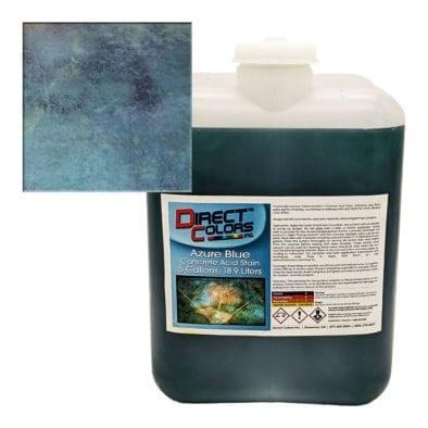 Azure - 5 Gallon Acid Stain