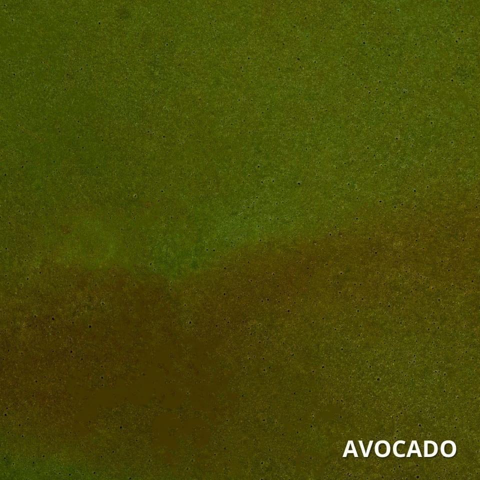 Avocado Concrete Acid Stain Swatch