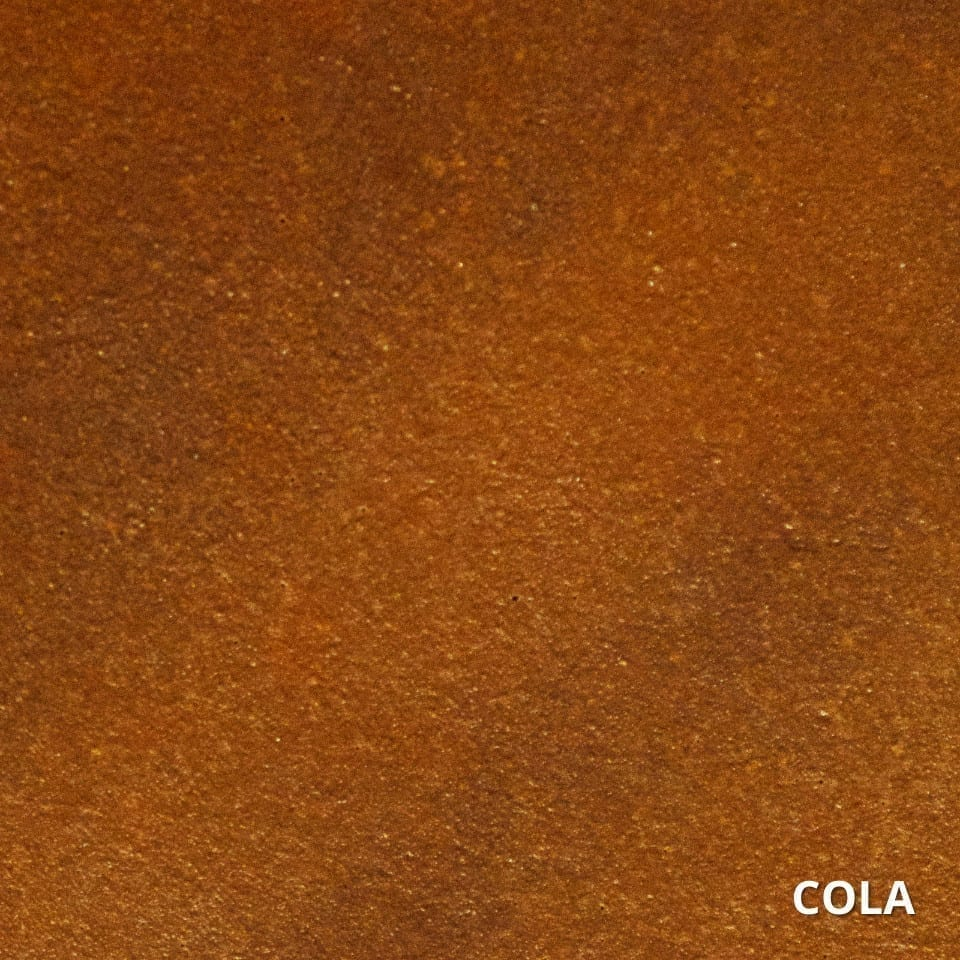 Cola Concrete Acid Stain Swatch