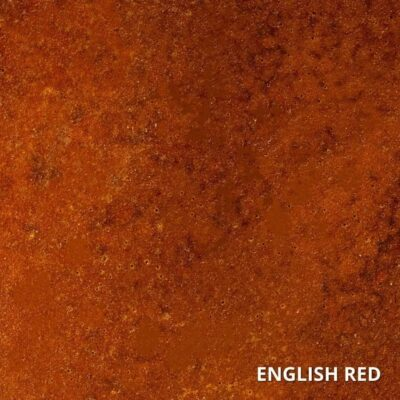 English Red Concrete Acid Stain Swatch