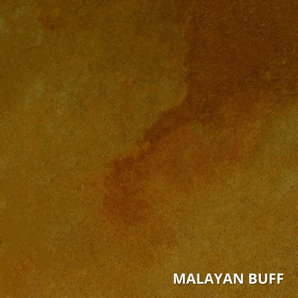 Malayan Buff Concrete Acid Stain Swatch