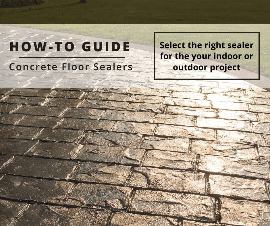 How to guide - select the right concrete floor sealer