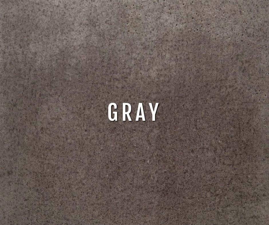 Design by color: Gray Concrete Stain Colors