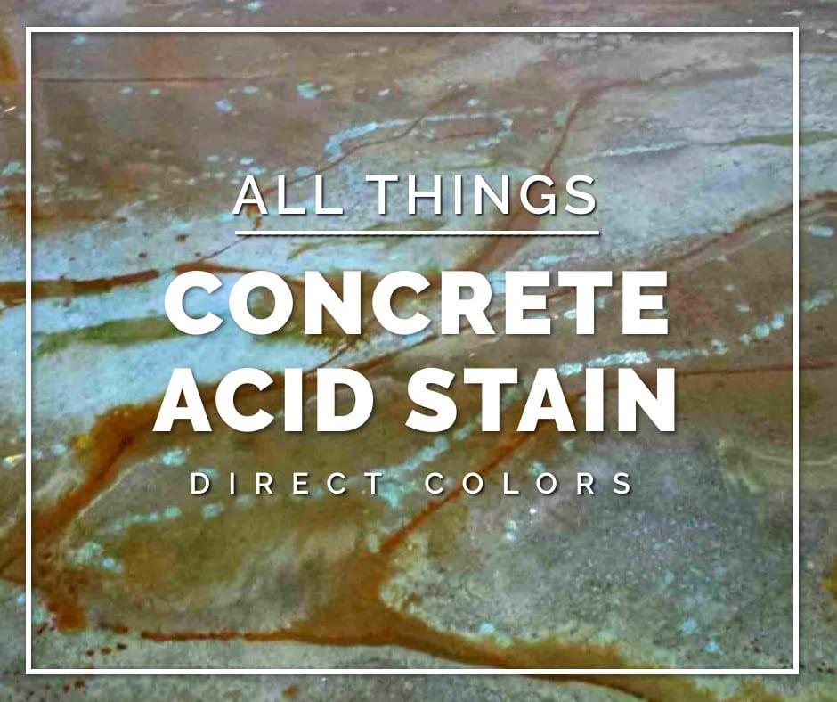 Concrete Acid Stain Colors