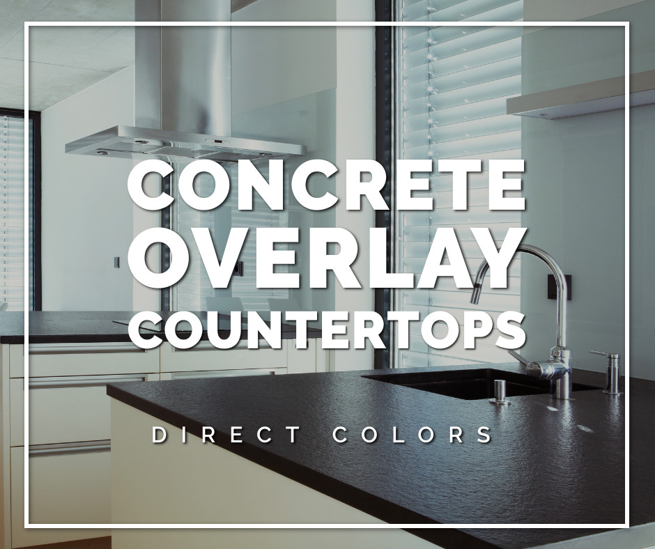 Concrete Overlay Countertops