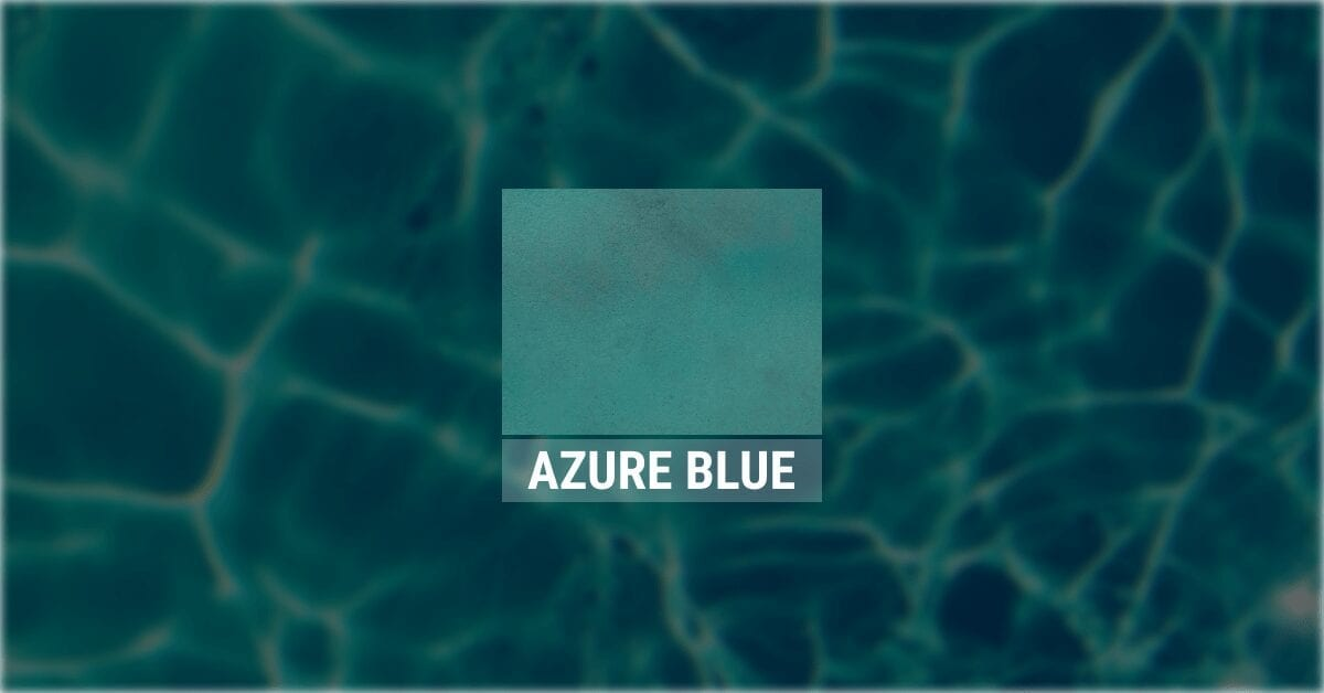 Design by color: Azure Blue Concrete Stain Gallery