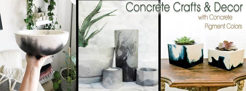 Podcast: Podcast: Concrete Crafts, Art and Décor with Direct Colors Stains, Pigments and Sealer!