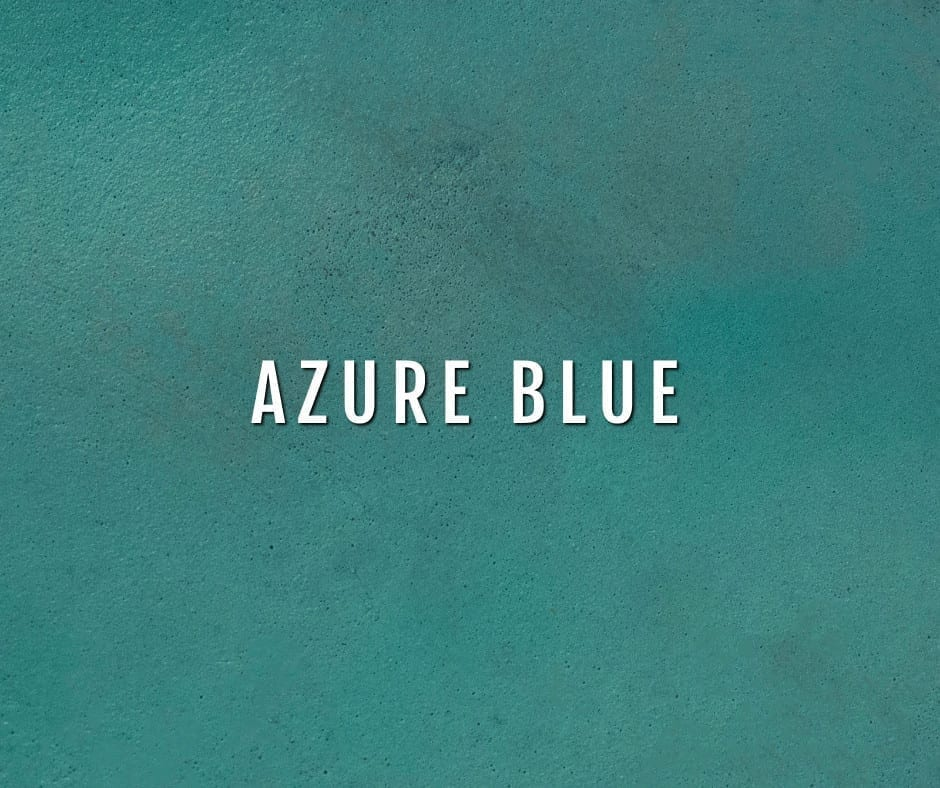 Design by color: Azure Blue Concrete Stain Photo Gallery