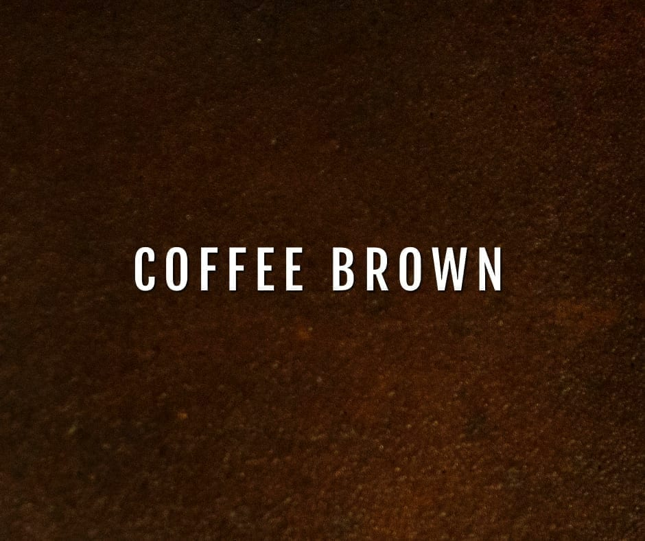 Design by color: Coffee Brown Concrete Stain Photo Gallery