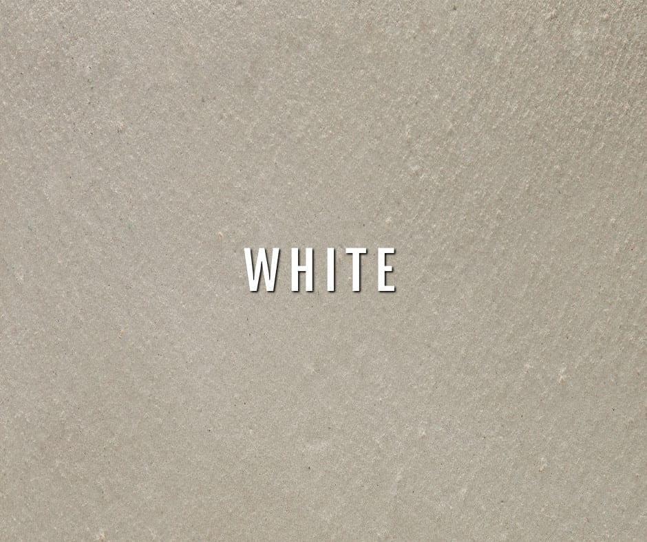 Design by color: White Concrete Photo Gallery