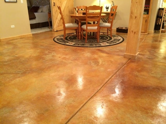Design by color: Desert Amber Concrete Stain Photo Gallery