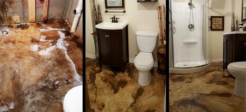 Podcast: Podcast:  Bathroom Remodeling is a Snap with Decorative Concrete