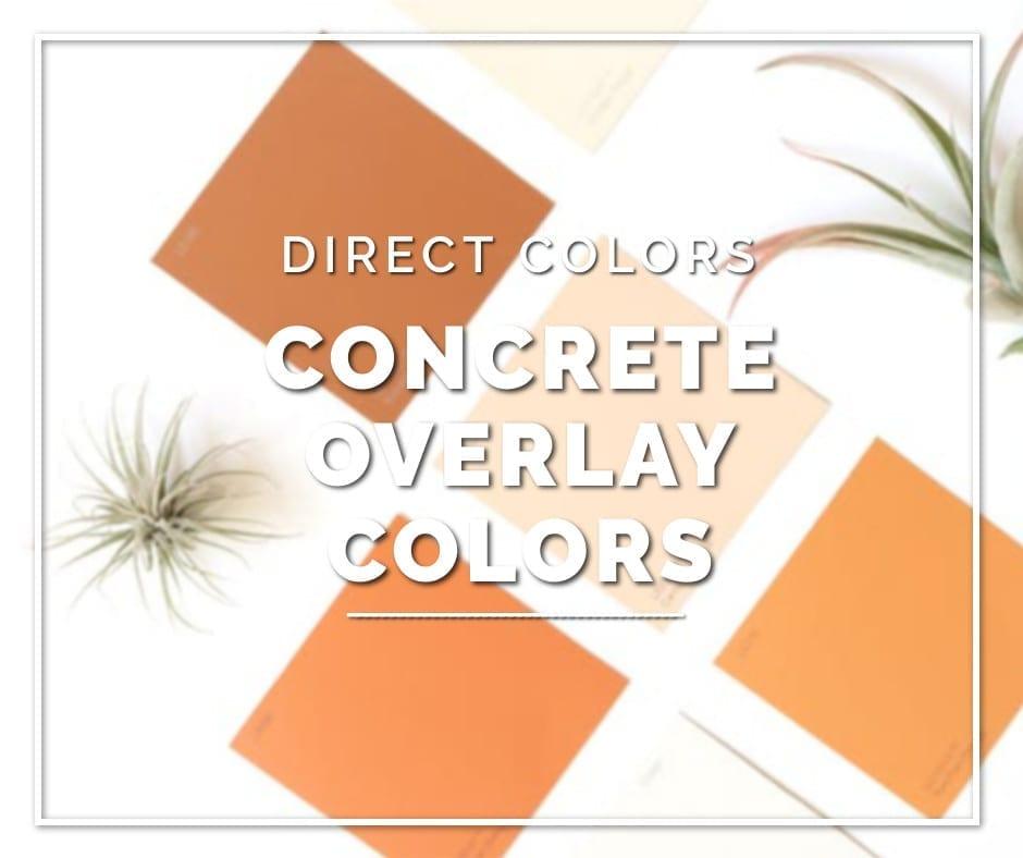 Concrete Overlay Colors